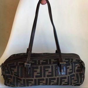 Small FENDI Zucca Pattern Bag